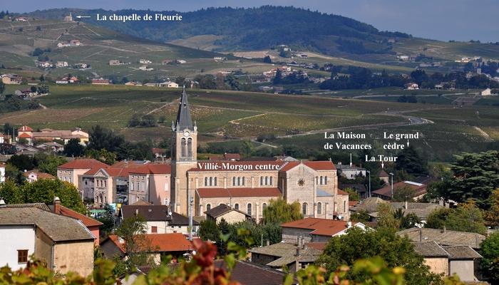 Bavière et volcan en Beaujolais, gîte Beaujolais, chambre d'hôtes Beaujolais, Fleurie