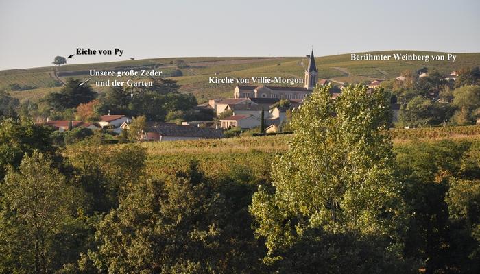 Ferienhaus-charakter-gastezimmer-charme-sudburgund-beaujolais-Baviere-et-volcan Villié-Morgon